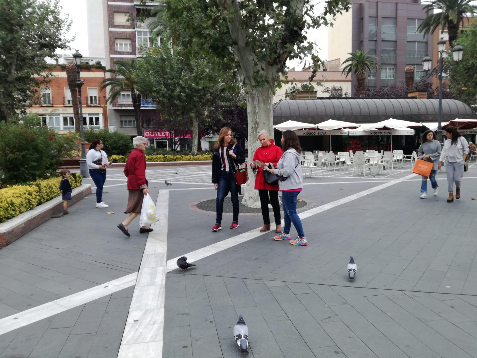 Mesa informativa Gastos Hipotecarios: Parque San Francisco (Badajoz) 27/10/2018