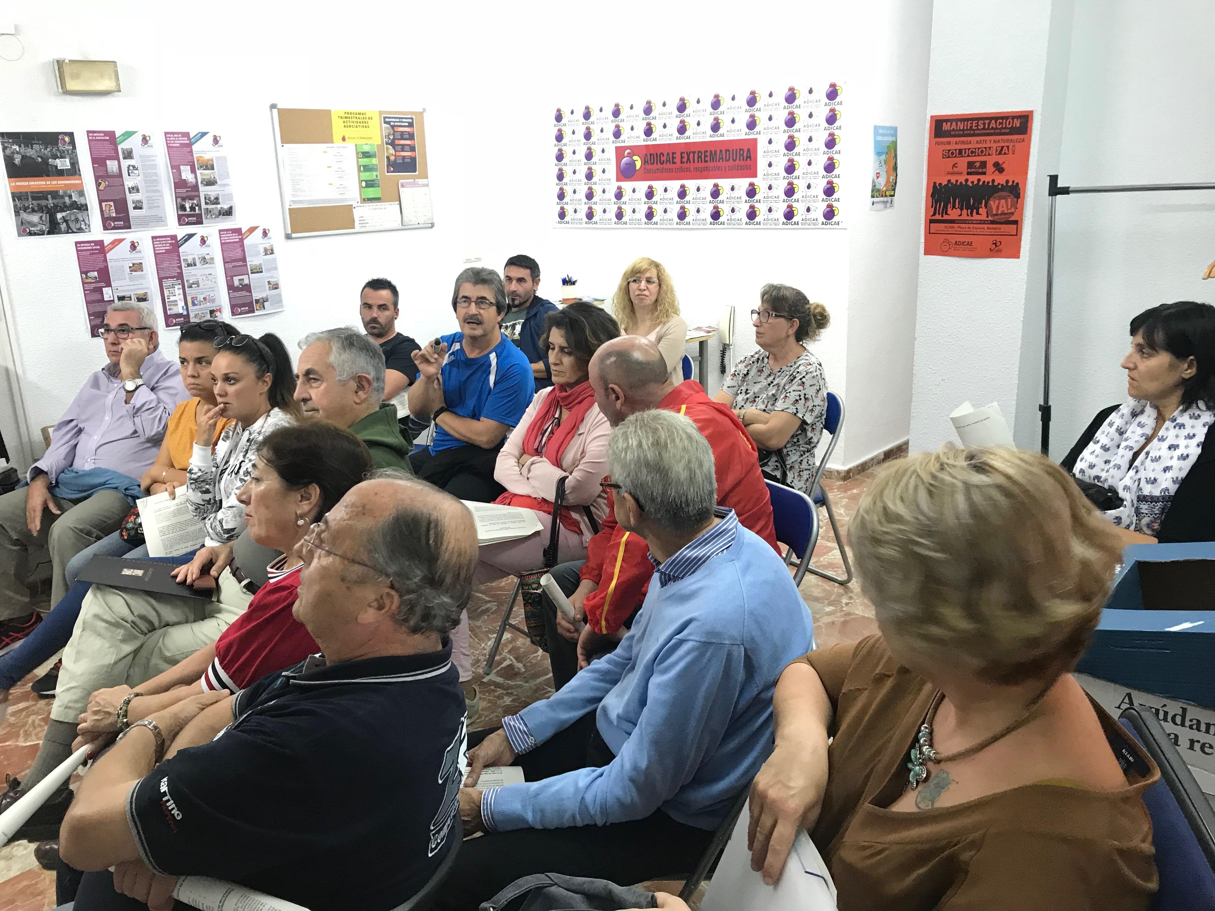Asamblea de gastos hipotecarios Badajoz