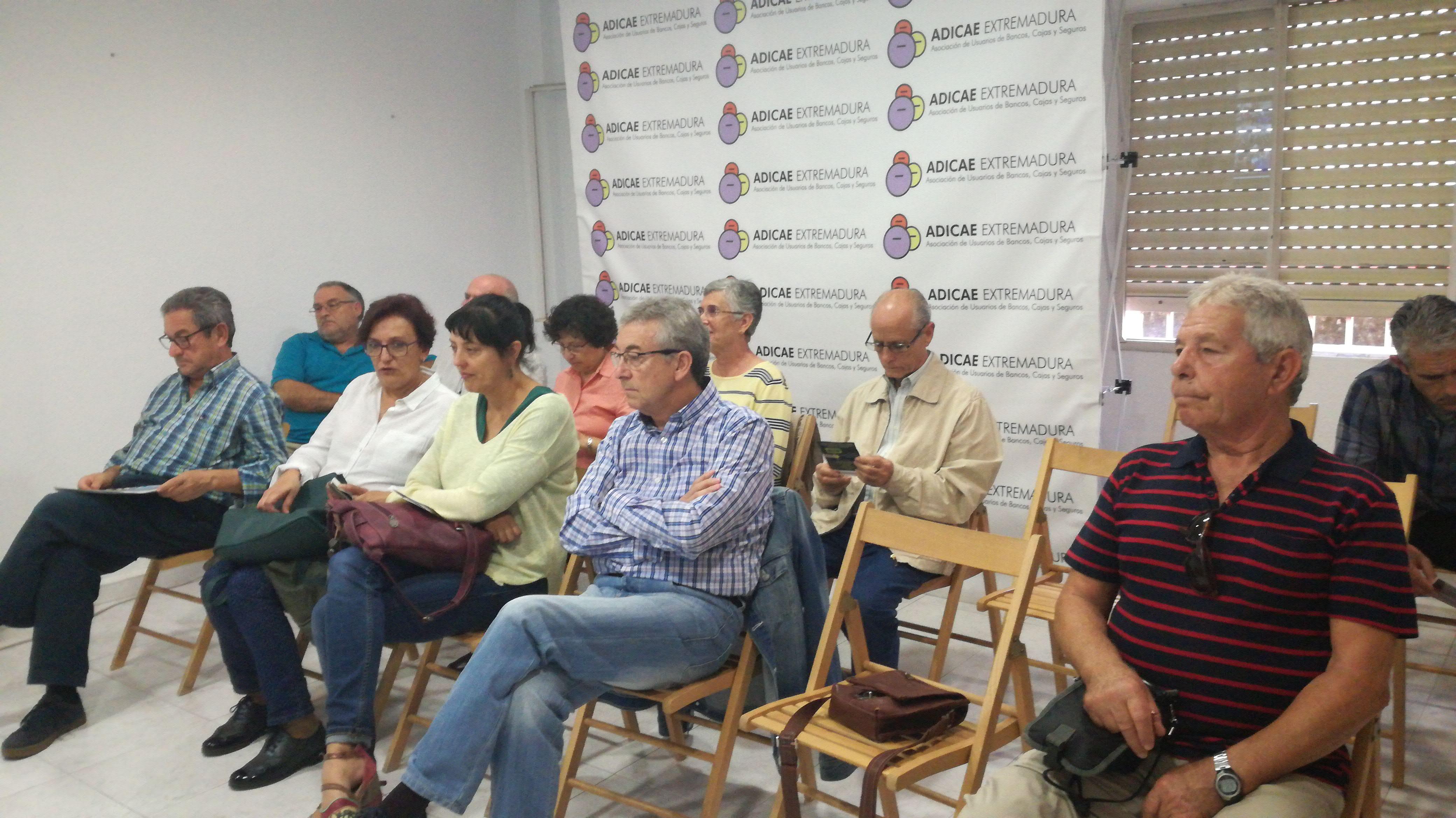 Asamblea de Gastos Hipotecarios Cáceres