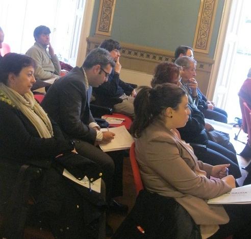 Asistentes da Xornada Autonomica celebrada en Vigo