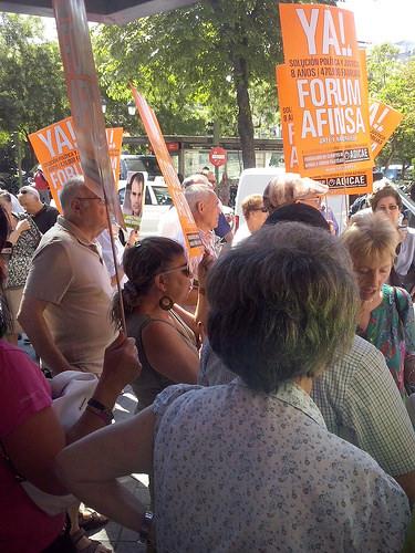 Los afectados por Forum-Afinsa inundan los juzgados de escritos para exigir que se celebre