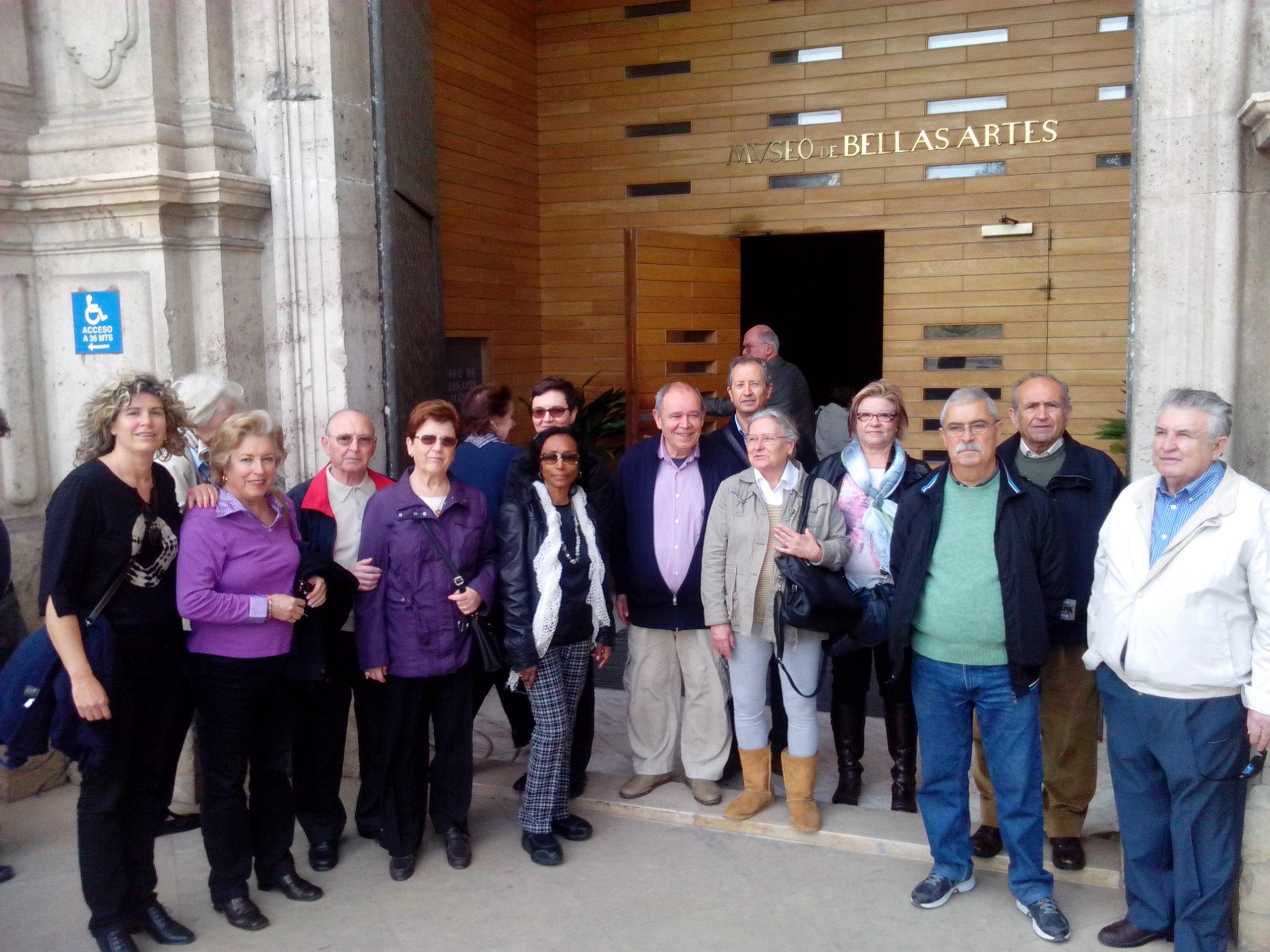 Visita al Museo de Bellas artes de Valencia