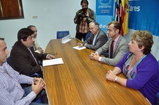 Reunión con los Parlamentarios del Partido Popular de Ceuta