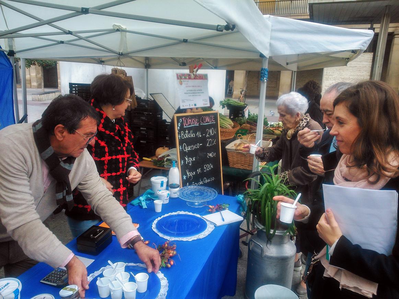 AICAR-ADICAE en la MUESTRA AGROECOLÓGICA DE ZARAGOZA. Conoce los productos alimentarios locales de tu ciudad y colabora en el impulso de una alimentación responsable y sostenible.