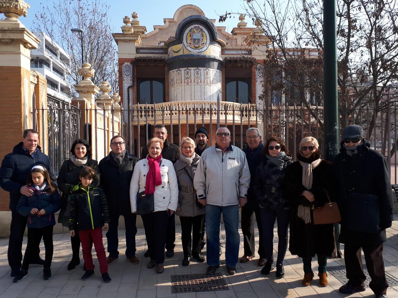 Visita cultural de nuestros socios a la conocida popularmente como la 'Casa de los Azulejos', un ejemplo de arquitectura ecléctica privada dotada de una ornamentación modernista e historicista.