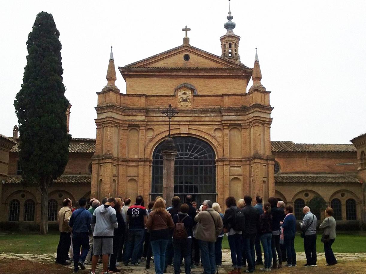 La Cartuja de Aula Dei. Visita guiada a este monasterio de la orden de los cartujos declarada Monumento Nacional en 1983 y bién de interés cultural.