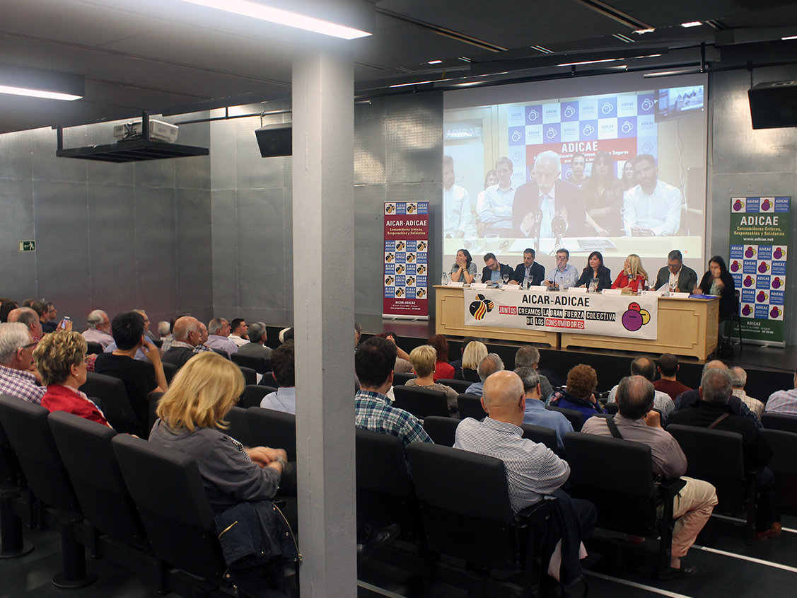 Debate con los principales partidos políticos en Aragón donde se pudimos conocer cómo nos afectan las medidas que plantean los partidos políticos especialmente en lo referente al consumo.