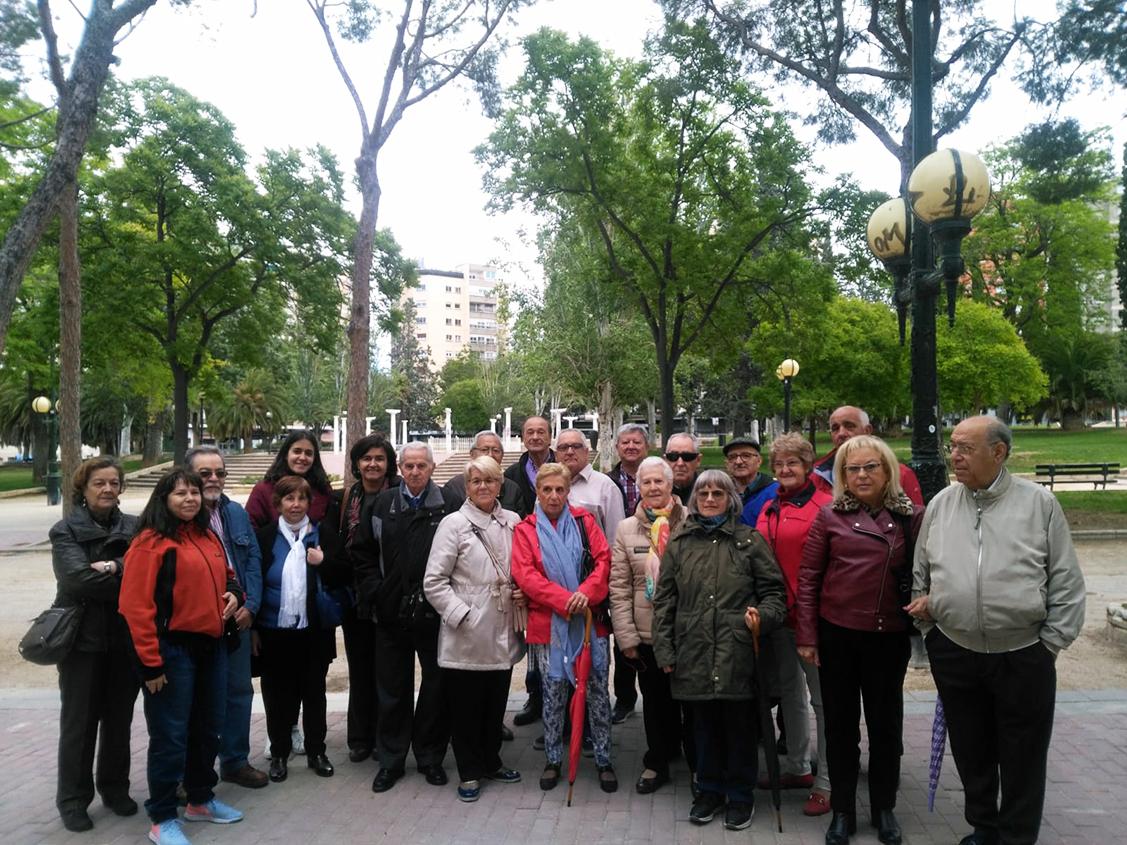 Visita guiada de nuestros socios a los 'Depósitos de Pignatelli'. Donde pudimos descubrrir esta parte tan importante del patrimonio histórico, industrial y arquitectónico de la Zaragoza del Siglo XIX.