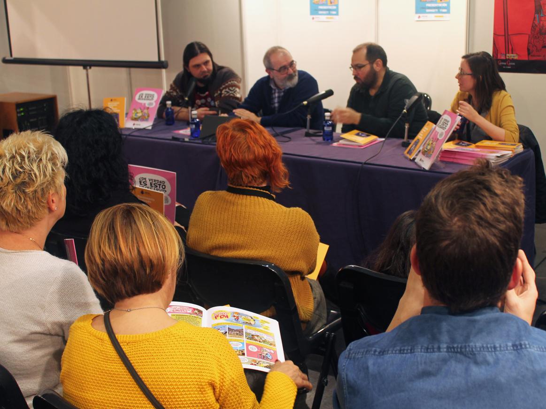 Nuestra asociación participó en uno de los eventos más relevantes del universo del cómic en el panorama nacional presentando el 'cómic y diccionario ilustrados 2017' en el  XVI Salón del Cómic de Zaragoza.