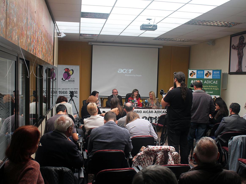 Presentación del estudio ?El acceso a la vivienda de los consumidores en Aragón: situación actual y análisis jurídico