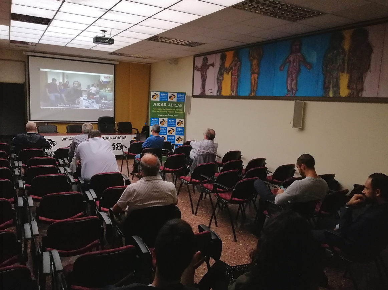 Videoconferencia, con todas las sedes de España, para planificar las líneas de actuación de la asociación y sus socios más participativos en la creación de nuevos grupos de trabajo, detectando y denunciando los abusos en consumo y haciendo propuestas.