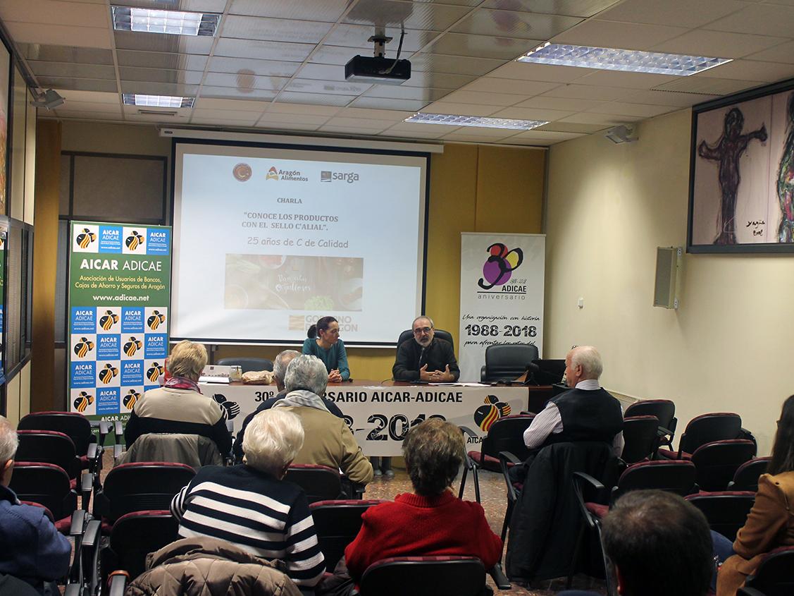 C'alial es una marca de calidad propiedad del Gobierno de Aragón, que tienen algunos productos de alimentación de nuestra región. En esta charla conocimos la marca, sus características, sus productos, y mucho más.
