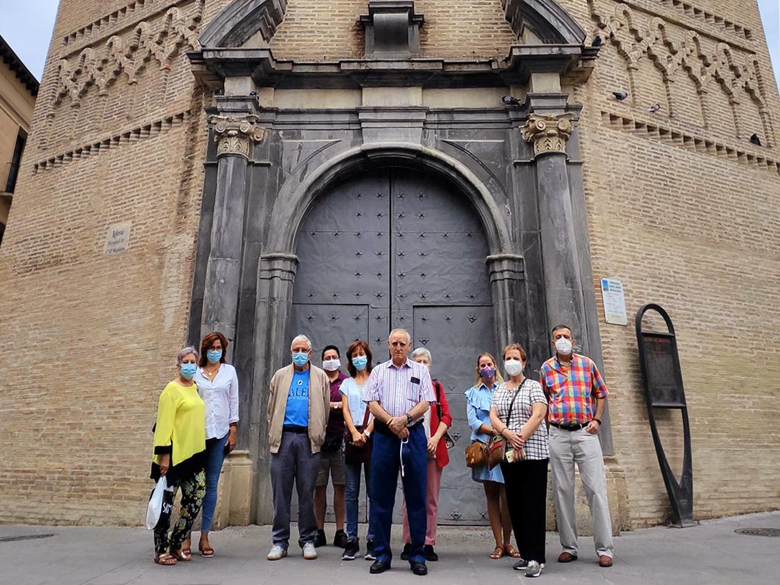 Visita organizada por nuestra asociación a la 'Iglesia Parroquial de Santa María Magdalena', uno de los principales templos mudéjares de Aragón y un lugar de referencia en la ciudad de Zaragoza.