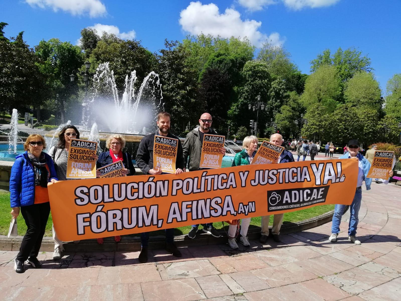 Solución política y justicia YA! para los afectados por Fórum-Afinsa-Arte y Naturaleza