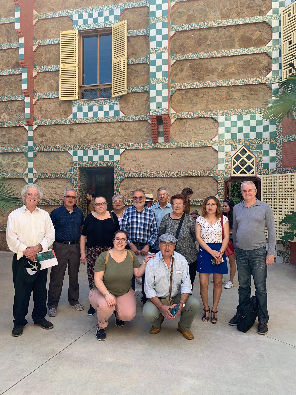 Visita cultural casa Viçenc - Juny 2019